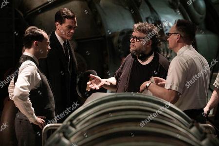 Stock Picture of Michael Stuhlbarg, Michael Shannon, Guillermo Del Toro, David Hewlett