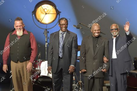 Ahmad Jamal with his quartet