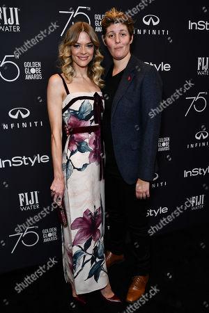 Stock Image of Jaime King and Sally Kohn