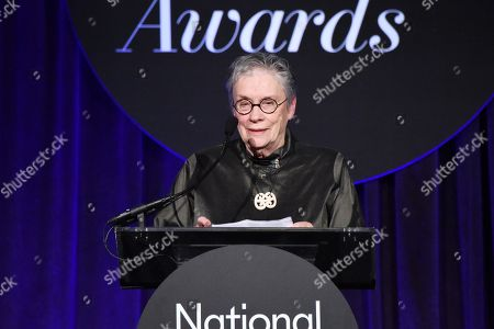 Editorial photo of 68th National Book Awards, Inside, New York, USA - 15 Nov 2017