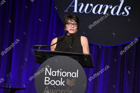 Editorial picture of 68th National Book Awards, Inside, New York, USA - 15 Nov 2017