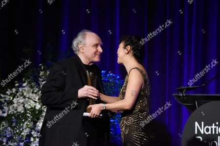 Stock Image of Monica Youn, Frank Bidart