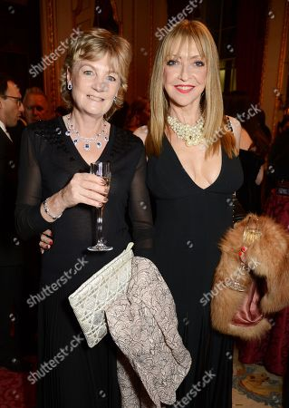 Lady Madeleine Gurdon and Sharon Maughan