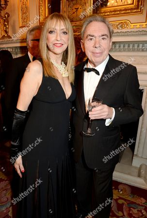 Sharon Maughan and Lord Sir Andrew Lloyd Webber
