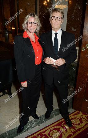 Stock Image of Fiona Golfar and Robert Fox
