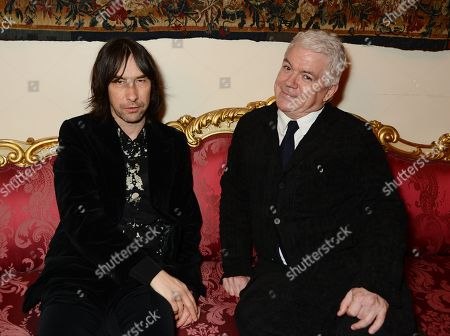 Bobby Gillespie and Tim Blanks
