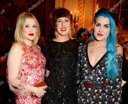 Emerald Fennell, Sally Miura and Coco Fennell
