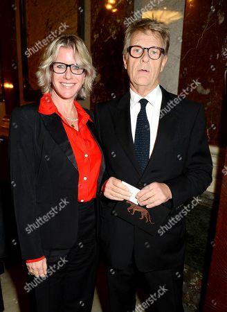 Fiona Golfar and Robert Fox