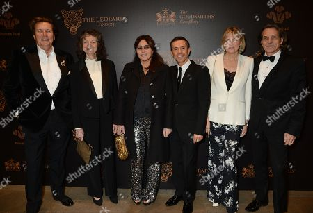 Editorial photo of The Leopard Awards in Aid of The Prince's Trust, London, UK - 15 Nov 2017