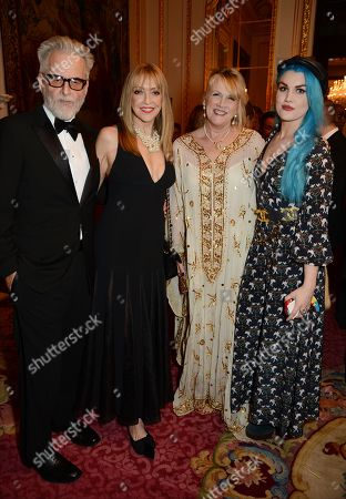 Trevor Eve, Sharon Maughan, Louise Fennell and Coco Fennell