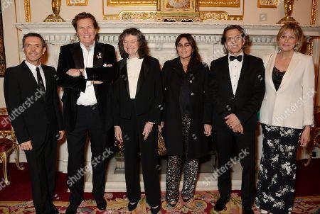 Stock Image of Shaun Leane, Theo Fennell, Susan Farmer, Solange Azagury-Patridge, Stephen Webster and Carol Woolton