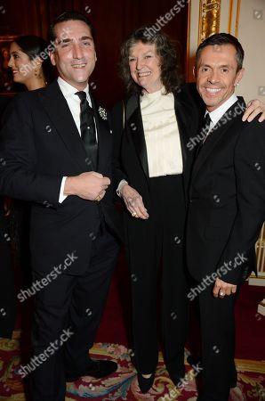 Guest, Shaun Leane and Susan Farmer