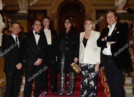 Stock Photo of Shaun Leane, Stephen Webster, Susan Farmer, Solange Azagury-Patridge, Carol Woolton and Theo Fennell