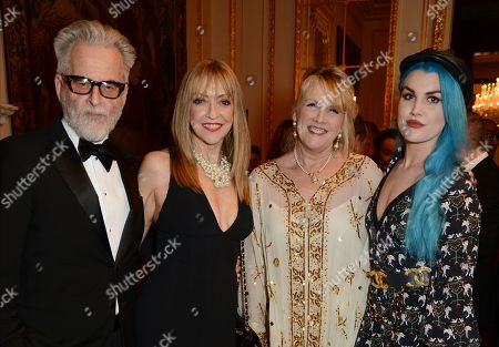 Stock Image of Trevor Eve, Sharon Maughan, Louise Fennell and Coco Fennell