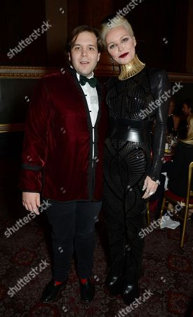 Joseph Getty and Daphne Guinness