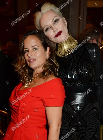 Jade Jagger and Daphne Guinness