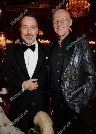 David Furnish and John Caudwell