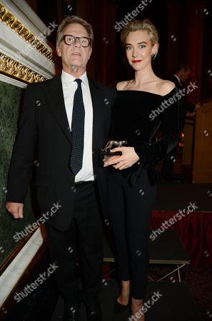 Robert Fox and Vanessa Kirby