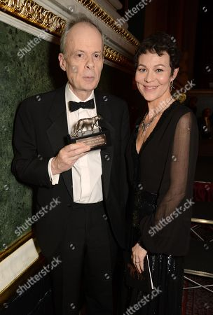 Stock Picture of Richard Edgecombe and Helen McCrory