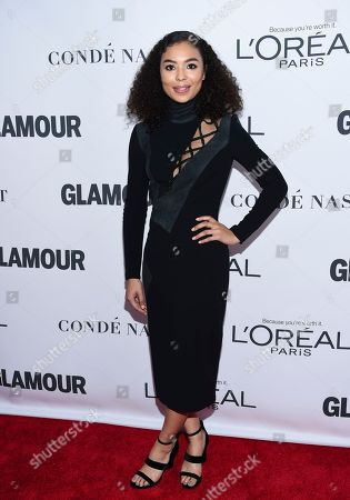 Jessica Sula attends the 2017 Glamour Women of the Year Awards at Kings Theatre, in New York
