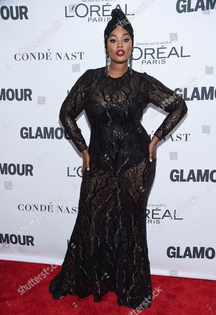 Precious Lee attends the 2017 Glamour Women of the Year Awards at Kings Theatre, in New York