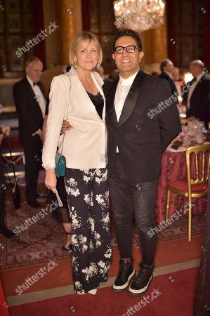 Carol Woolton and Osman Yousefzada