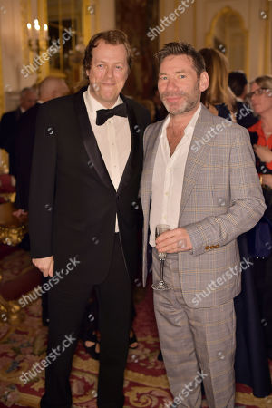 Tom Parker Bowles and Matt Collishaw