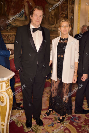 Tom Parker Bowles and Sara Buys