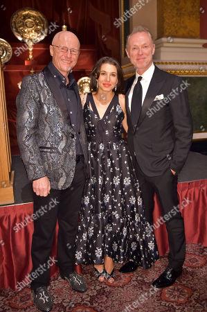 John Caudwell, Lauren Kemp and Gary Kemp