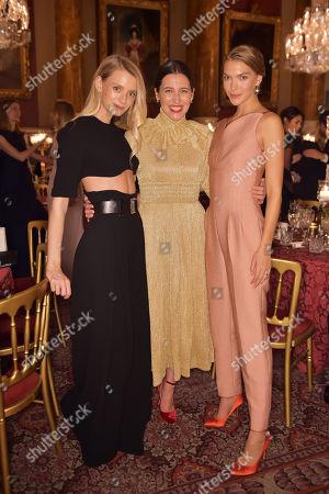 Stock Photo of Rebecca Corbin-Murray, Emilia Wickstead and Arizona Muse