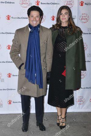 Matteo Marzotto with Nora Shkreli