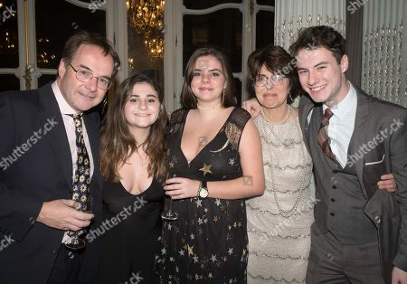 Stock Photo of Quentin Letts, Lois Rathbone and Family