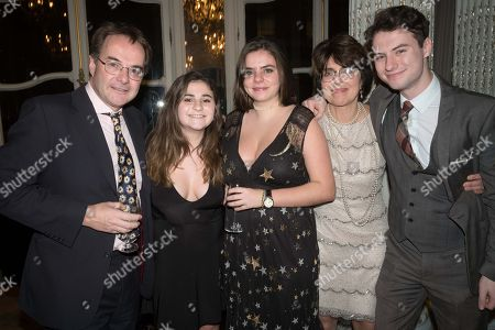 Quentin Letts, Lois Rathbone and Family