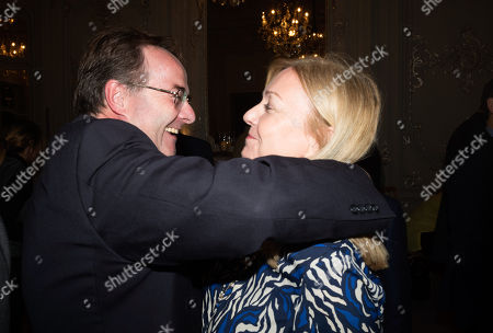 Stock Picture of Quentin Letts and Caroline Edmondson