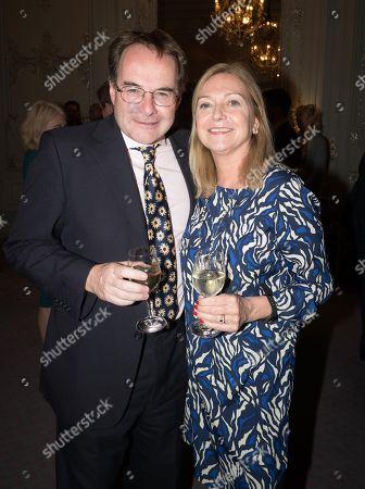 Quentin Letts and Caroline Edmondson