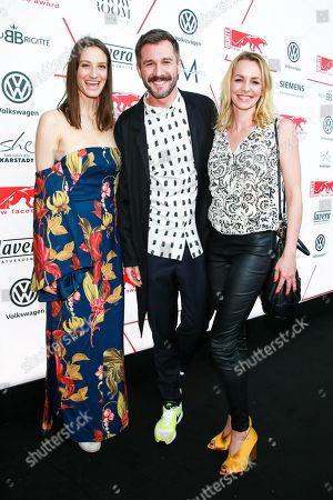 Stock Photo of Annique Delphin, Jochen Schropp and Simone Hanselmann