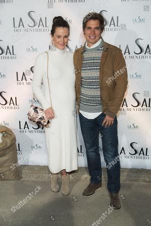 Carlos Baute and Astrid Klisans