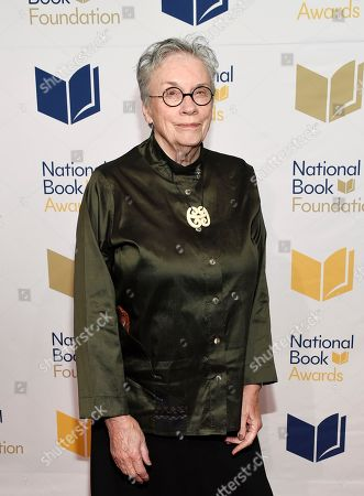 Lifetime Achievement honoree Annie Proulx attends the 68th National Book Awards Ceremony and Benefit Dinner at Cipriani Wall Street, in New York