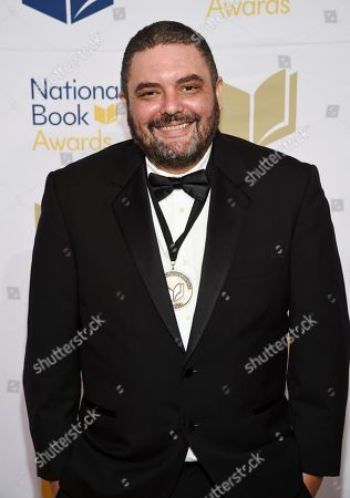 Stock Photo of Poet Shane McCrae attends the 68th National Book Awards Ceremony and Benefit Dinner at Cipriani Wall Street, in New York