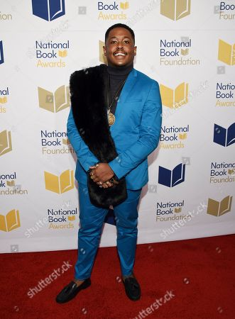Stock Image of Author Danez Smith attends the 68th National Book Awards Ceremony and Benefit Dinner at Cipriani Wall Street, in New York