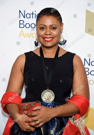 Writer Ibi Zoboi attends the 68th National Book Awards Ceremony and Benefit Dinner at Cipriani Wall Street, in New York