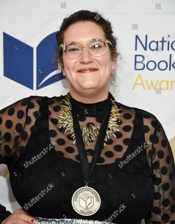 Stock Picture of Author Carmen Maria Machado attends the 68th National Book Awards Ceremony and Benefit Dinner at Cipriani Wall Street, in New York