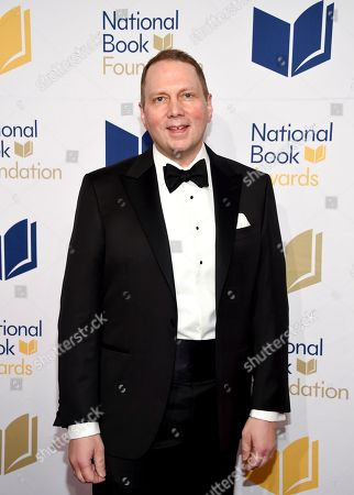 Author Dav Pilkey attends the 68th National Book Awards Ceremony and Benefit Dinner at Cipriani Wall Street, in New York