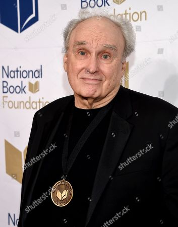 Stock Picture of Writer Frank Bidart attends the 68th National Book Awards Ceremony and Benefit Dinner at Cipriani Wall Street, in New York