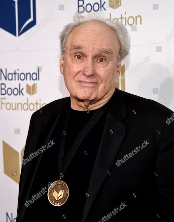 Writer Frank Bidart attends the 68th National Book Awards Ceremony and Benefit Dinner at Cipriani Wall Street, in New York