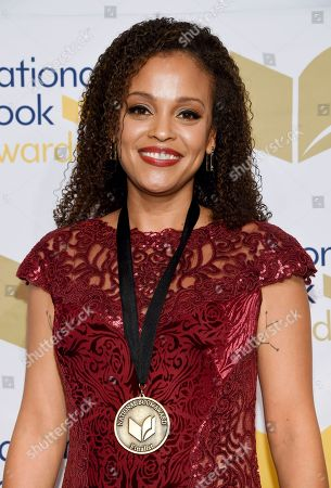 Writer Jesmyn Ward attends the 68th National Book Awards Ceremony and Benefit Dinner at Cipriani Wall Street, in New York