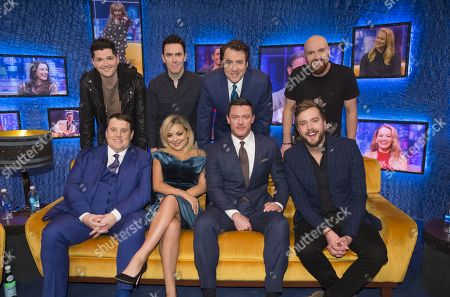 Danny O'Donoghue, Glen Power, Jonathan Ross, Mark Sheehan, Peter Kay, Sheridan Smith, Luke Evans and Iain Stirling