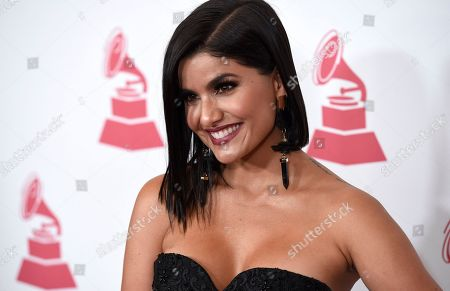 Martina La Peligrosa arrives at the Latin Recording Academy Person of the Year tribute honoring Alejandro Sanz at the Mandalay Bay Convention Center, in Las Vegas