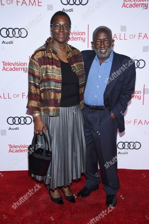 Freda Morris, Garrett Morris. Freda Morris, left, and Garrett Morris attend the 24th Television Academy Hall of Fame on at the Television Academy's Saban Media Center in North Hollywood, Calif