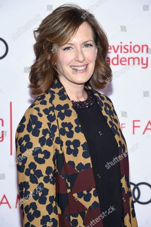 Anne Sweeney attends the 24th Television Academy Hall of Fame on at the Television Academy's Saban Media Center in North Hollywood, Calif